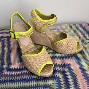 Loeffler Randall wedge sandal